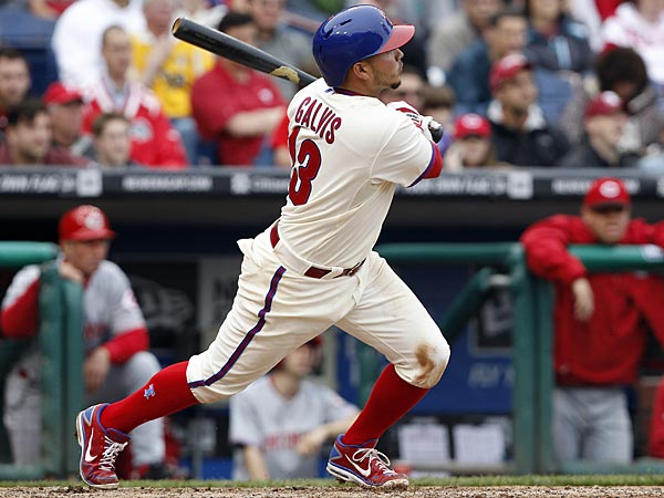 The Phillies´ Freddy Galvis. (David Maialetti/Staff Photographer)