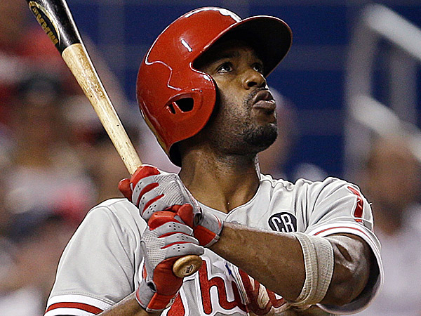 Phillies shortstop Jimmy Rollins. (Alan Diaz/AP)
