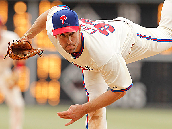 Phillies starting pitcher Cliff Lee. (Ron Cortes/Staff Photographer)
