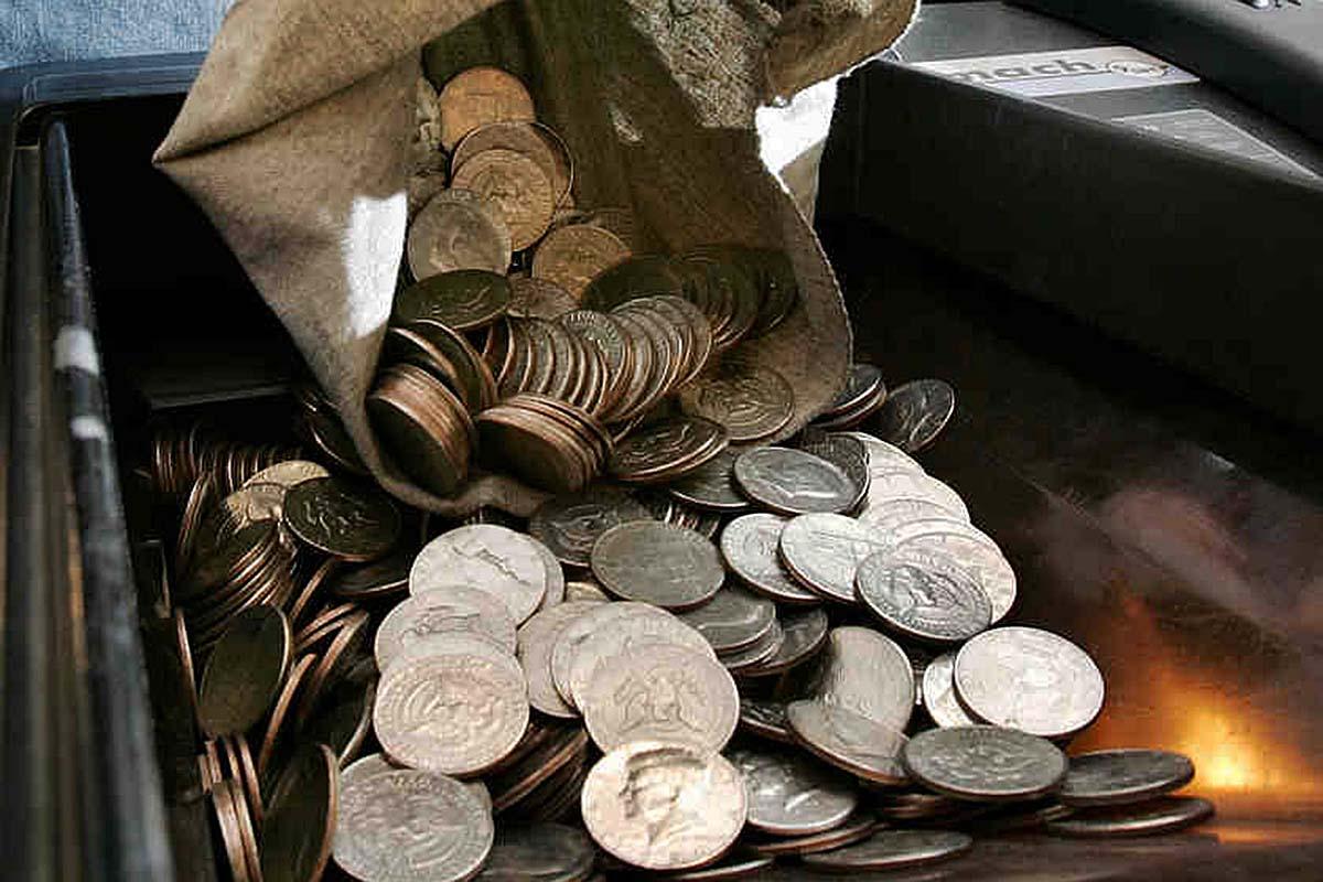 bank change machine