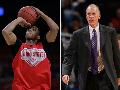 Will Evan Turner (left) team up with Doug Collins next season for the Sixers? (AP Photos)