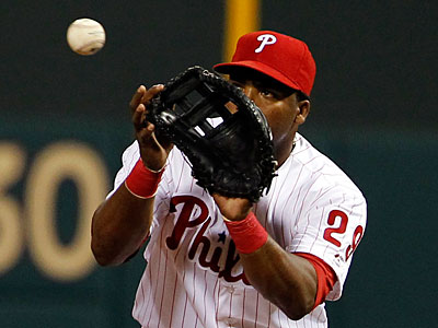 Hector Luna will start at first base for the Phillies in Tuesday night´s game. (Alex Brandon/AP Photo)