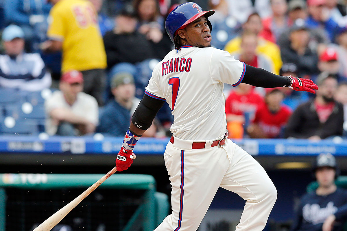 Brookover: Phils could soar if Franco gets going