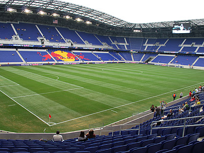 Red Bull Arena has become the new standard for American soccer stadiums. (Jonathan Tannenwald/Philly.com)