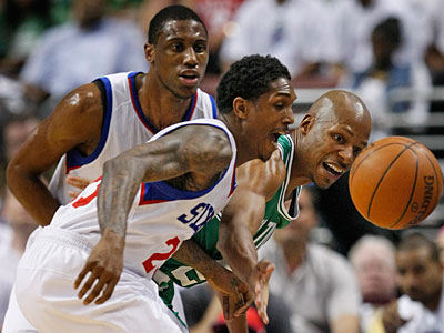 Ray Allen will start for the Celtics instead of shooting guard Avery Bradley. (Ron Cortes/Staff Photographer)
