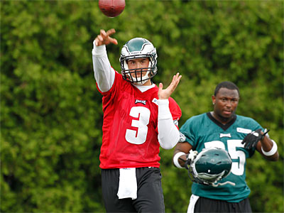 Mike Kafka could be the Eagles´ backup quarterback when the season opens (AP Photo / Alex Brandon)