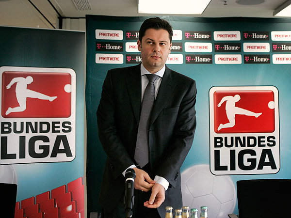 Bundesliga CEO Christian Seifert. (Michael Probst/AP file photo)