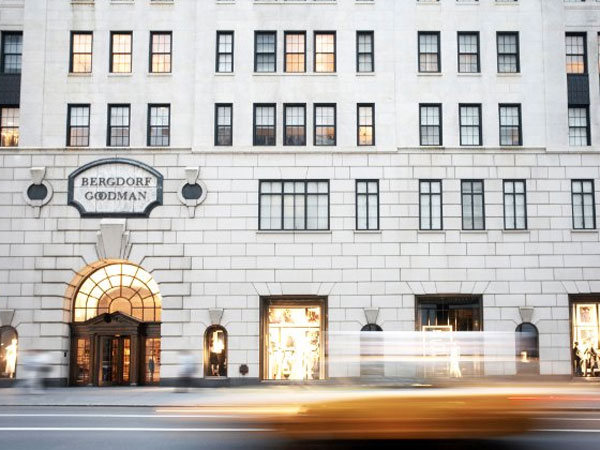 The exterior view of Bergdorf Goodman in New York City. (Photo / Entertainment One Films)