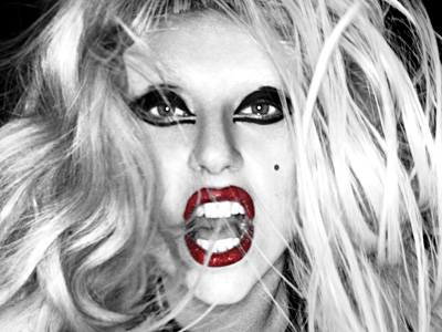 "The CD cover of the latest album release by Lady Gaga, ""Born This Way."" (AP Photo / Interscope Records, File)"