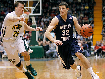 Could BYU´s Jimmer Fredette be an option for the Sixers in June´s draft? (AP Photo / Mike Groll)