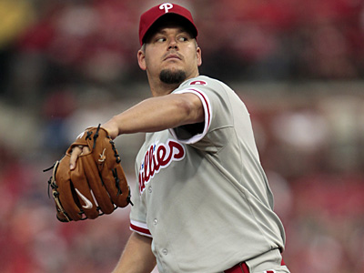 Joe Blanton starts tonight for the Phillies against the New York Mets at Citi Field. (Jeff Roberson/AP)