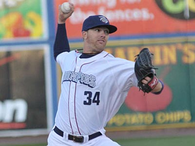 Tyler Cloyd was named the 2012 International League Pitcher of the Year.