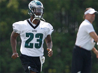 Eagles cornerback Dominique Rodgers-Cromartie is scheduled to be a free agent after the 2012 season (David Maialetti / Staff Photographer).