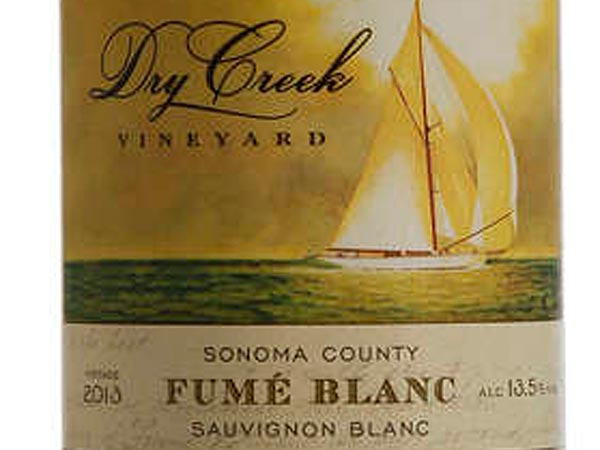 For a New World rendition , try Dry Creek Vineyard´s Fum Blanc, which in 1972 became the first sauvignon planted in Dry Creek Valley. It´s still refreshingly Loire-ish & ringing with citrus and mineral acidity with an almost effervescent lemongrass finish a tremendous buy on sale for $11.99 until June 1. (MICHAEL S. WIRTZ / Staff Photographer)