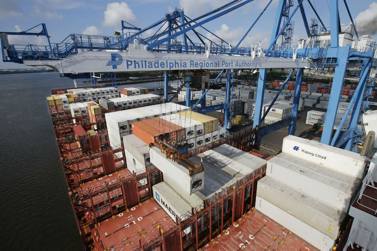 Officials hope the updated, renamed PhilaPort will lure more shippers such as the Mediterranean Shipping Company to patronize Phila.