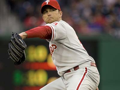 The Phillies have placed closer Brad Lidge on the disabled list. (Evan Vucci / AP file photo)