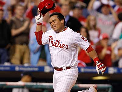 Phillies catcher Carlos Ruiz is currently in second place in the NL All-Star voting. (Ron Cortes/Staff photographer)