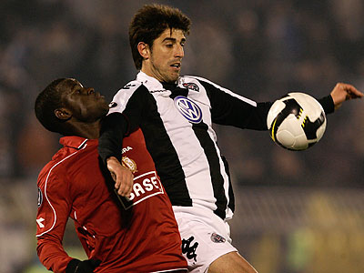 Veljko Paunović last played professionally for Serbian club Partizan Belgrade in 2008. (AP file photo)