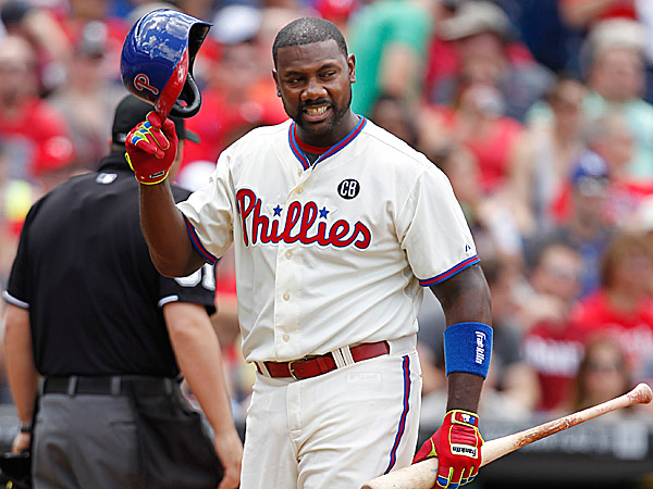 Phillies first baseman Ryan Howard. (Ron Cortes/Staff Photographer)