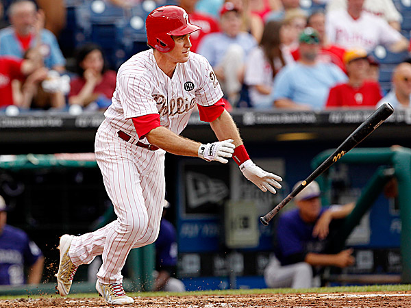 Phillies second baseman Chase Utley. (Ron Cortes/Staff Photographer)