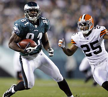 Can Eagles receiver Jason Avant (81) make the leap to the next level in 2009? (AP / File photo)