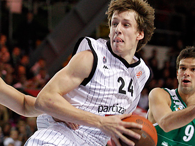 Could the Sixers target Jan Vesely of the Czech Republic? (AP Photo/Mindaugas Kulbis)