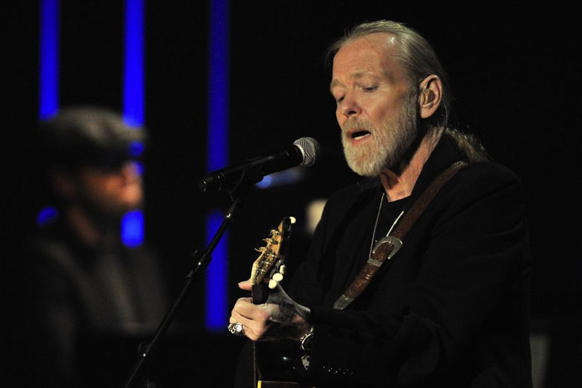 FILE - This Oct. 13, 2011 file photo shows Gregg Allman performs at the Americana Music Association awards show in Nashville, Tenn. On Saturday, May 27, 2017, a publicist said the musician, the singer for The Allman Brothers Band, has died.