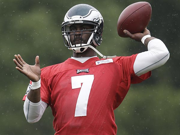 Philadelphia Eagles quarterback Michael Vick. (Matt Rourke/AP)