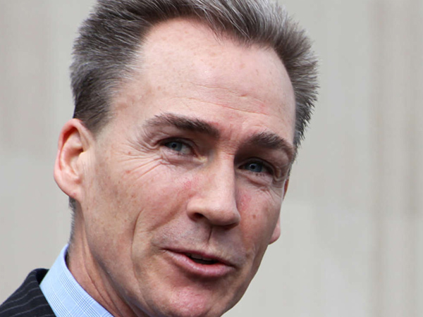 Photo of State Sen. Mike Stack III. Steve Wynn´s decision to drop his bid for a Philadelphia casino license wipes out a potential major payday for Sen. Stack and his family. (File photo)