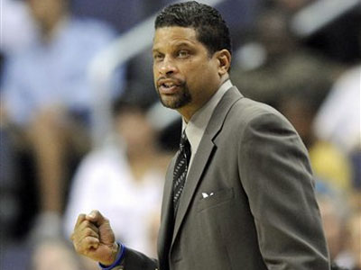 Sources say former Washington Wizards head coach Eddie Jordan will be the next coach of the 76ers. (AP Photo / Nick Wass)