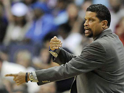 Sources say former Washington Wizards head coach Eddie Jordan has accepted an offer to become the Sixers´ new coach. A press conference may be called as early as Monday. (AP Photo)