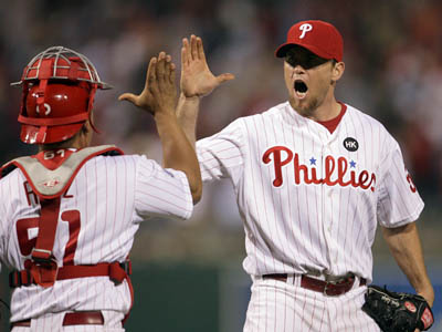 The Phillies today placed closer Brad Lidge on the disabled list. (Yong Kim / Staff Photographer)