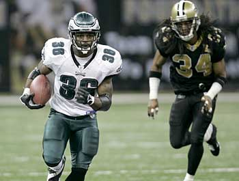 Brian Westbrook was recently ranked the league´s top dual-threat running back by the National Football Post. (AP)