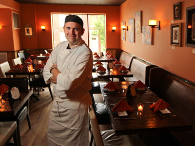 Chef Michael Cappon in Isabella´s in Conshohocken. (Michael Bryant / Staff Photographer)