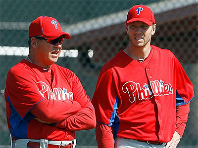 """He's feeling a lot better than he has in a long time,"" Rich Dubee said of Roy Halladay. (Yong Kim/Staff file photo)"