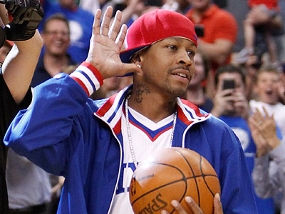 Allen Iverson has been waiting to return to professional basketball since leaving Turkey last year. (Ron Cortes/Staff Photographer)
