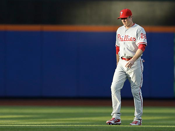 In the last four days, Chase Utley has taken an important step toward his eventual return. (Kathy Willens/AP)