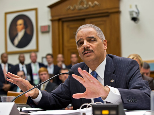 Attorney General Eric Holder   (AP Photo/J. Scott Applewhite)