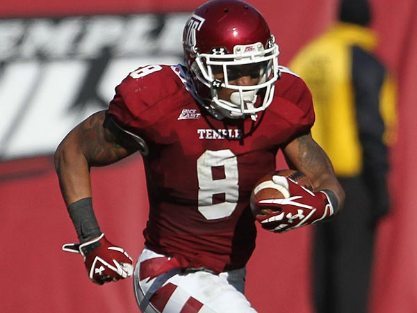 Former Temple tailback Montel Harris signed a three-year contract with a Hamilton Tiger-Cats of the Canadian Football League on Wednesday.(David Swanson/ Staff Photographer)