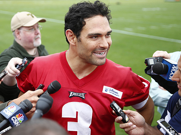 Eagles quarterback Mark Sanchez. (Matt Rourke/AP)