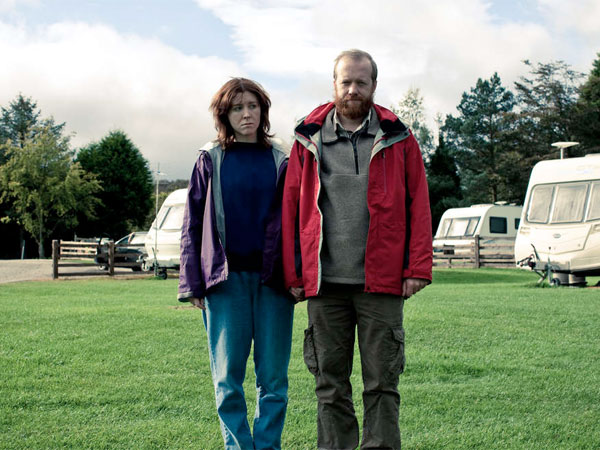 Tina and Chris (Alice Lowe, Steve Oram) in the brilliant British black comedy. BEN WHEATLEY