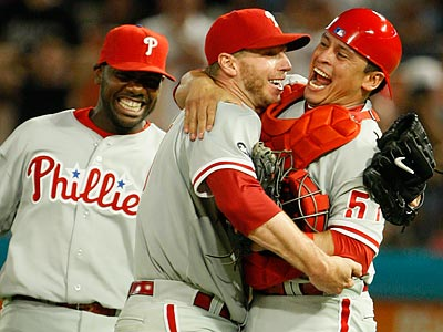 Roy Halladay´s perfect game was the second in Phillies´ history. (AP file photo / Wilfredo Lee)