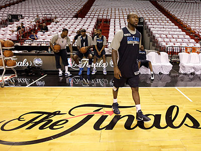 The NBA Finals start tonight in Miami. (David J. Phillip/AP)