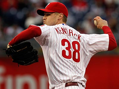 Kyle Kendrick will start for the Phillies in one game of Wednesday´s doubleheader. (Laurence Kesterson/Staff Photographer)