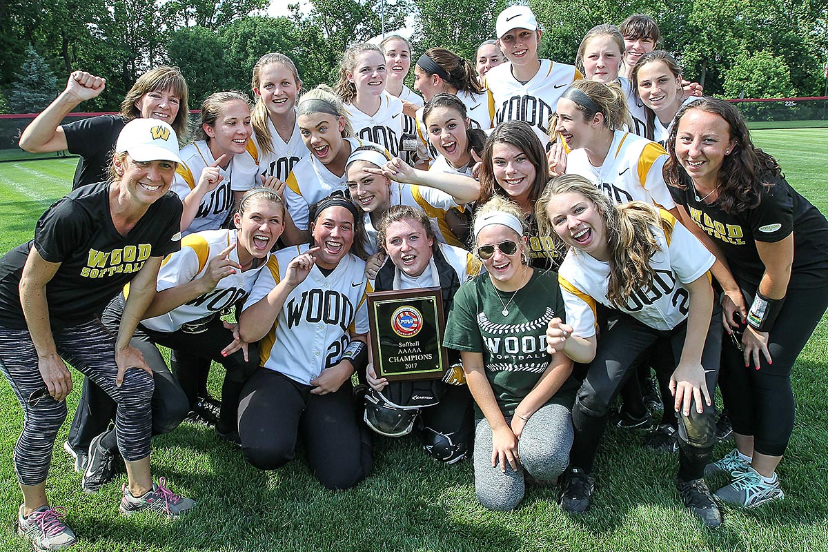 Archbishop Wood celebrates beating Franklin Towne, 7-0, for the PIAA District 12 AAAAA Championship.