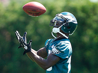 Eagles wide receiver Jeremy Maclin could have a career year in 2012. (David Maialetti/Staff Photographer)