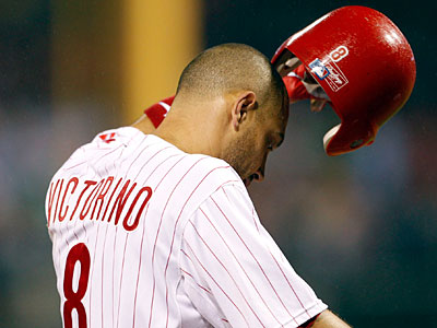 Shane Victorino´s name has come up in talks with the Giants and Dodgers. (Yong Kim/Staff Photographer)