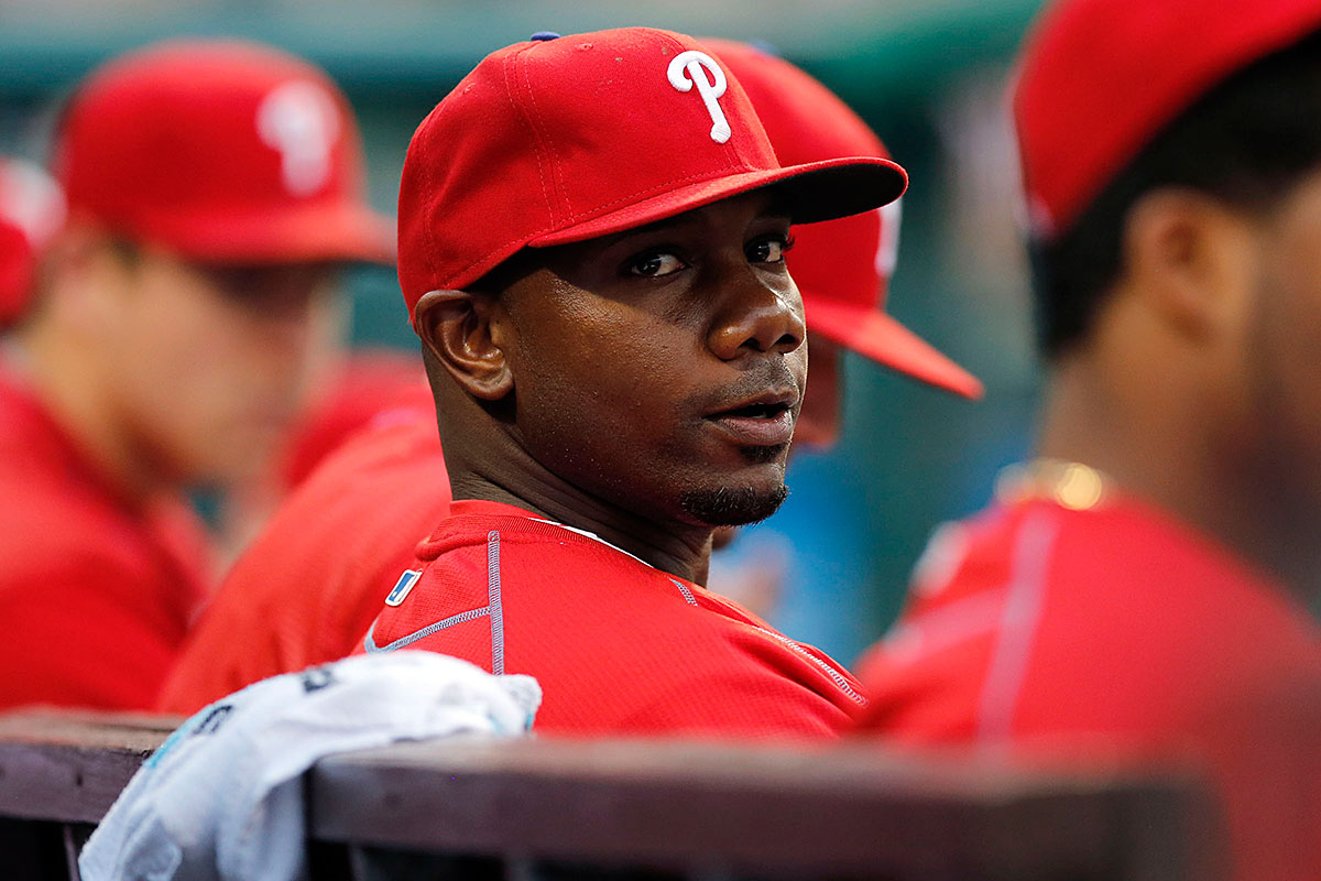 Ryan Howard during a 2016 game against the Washington Nationals.
