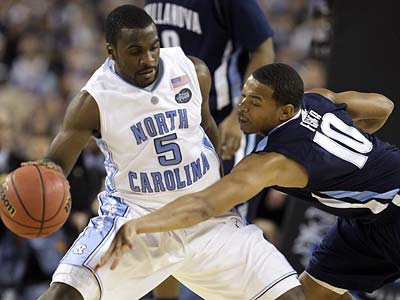 Ty Lawson averaged 16.6 points and 6.6 assists a game last season as North Carolina won the national championship, beating Villanova in the Final Four along the way. (Paul Sancya/AP file photo)