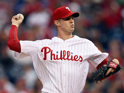 Kyle Kendrick is 3-2 on the season with a 4.95 ERA. (Yong Kim / Staff file photo)